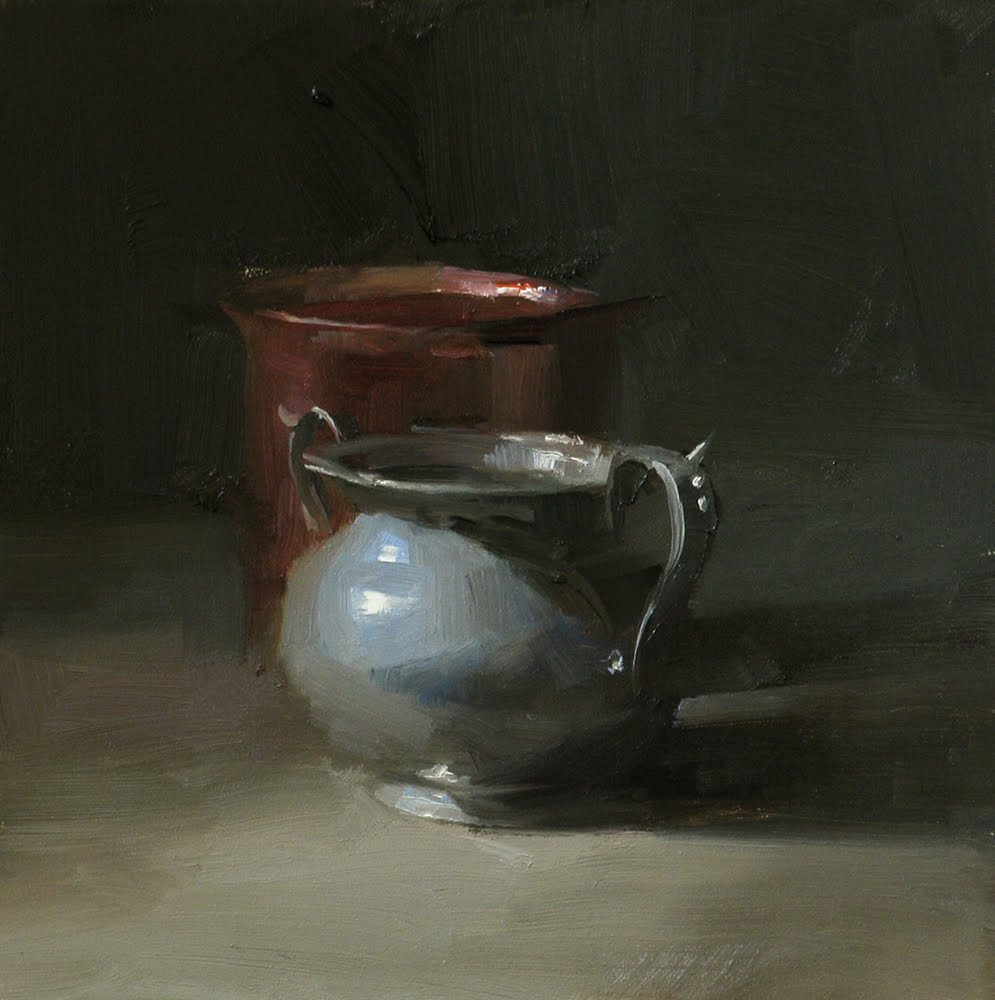 """""""Gray Sophistication"""" original fine art by Qiang Huang"""