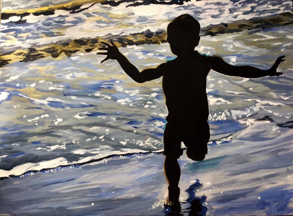 """""""In Shadow"""" original fine art by Lauren Kuhn"""