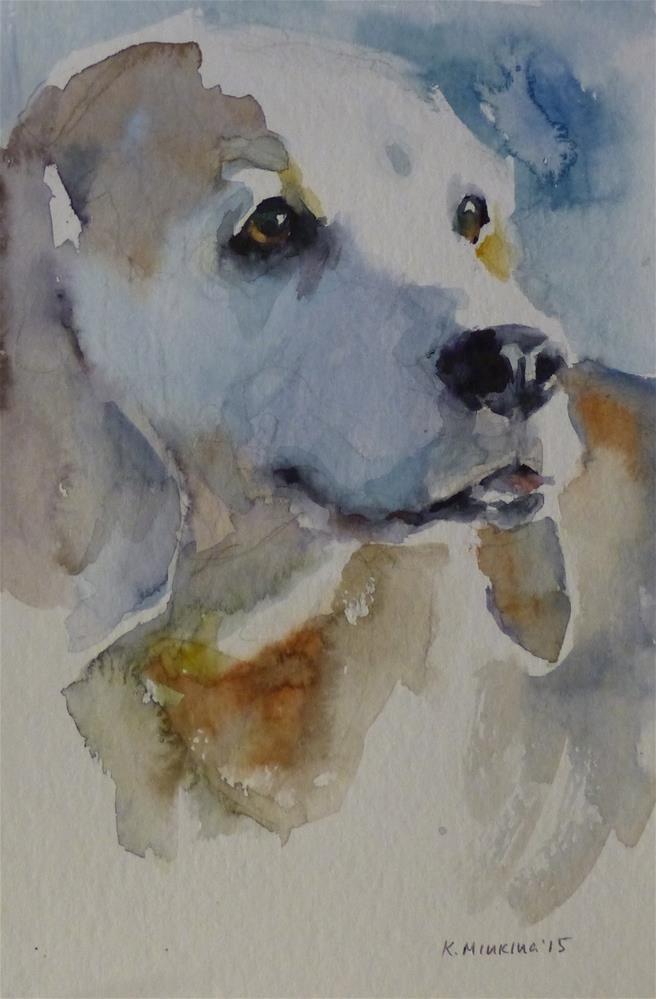 """adopt114"" original fine art by Katya Minkina"