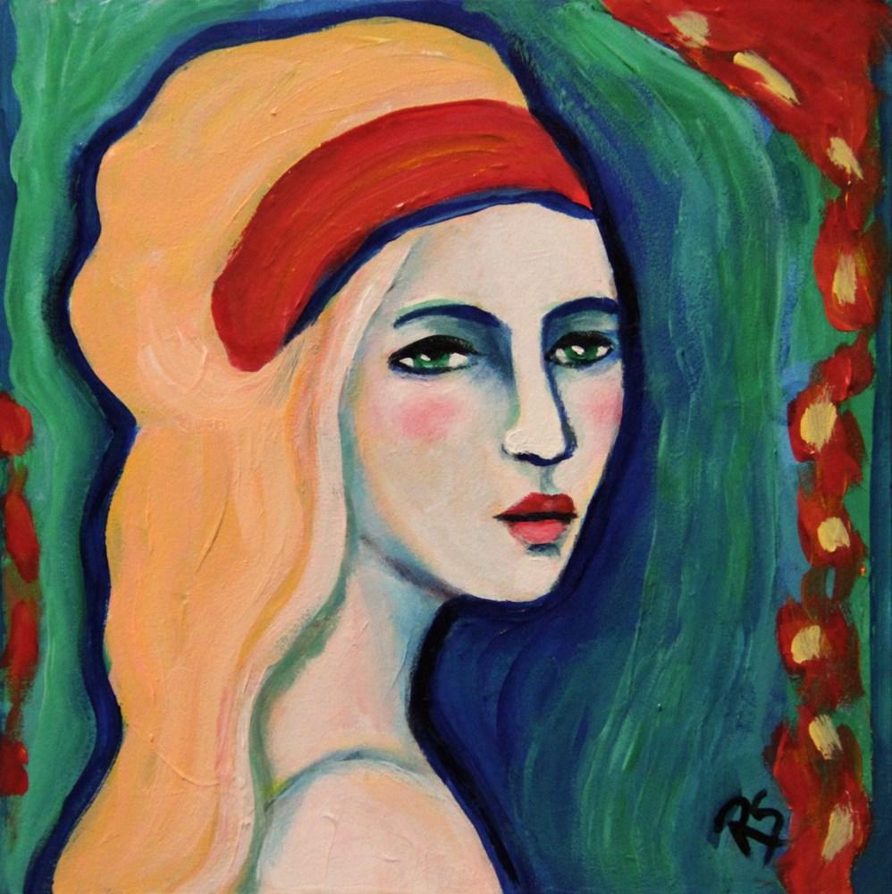 """Oriana"" original fine art by Roberta Schmidt ArtcyLucy"