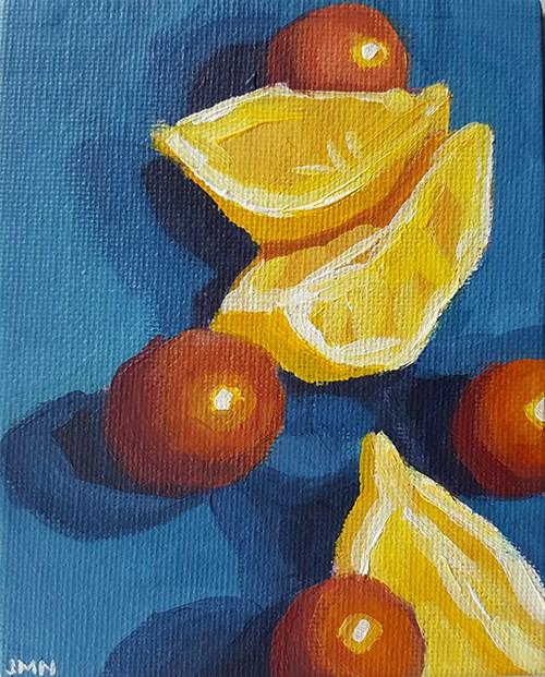 """""""Primary Palette"""" original fine art by J M Needham"""