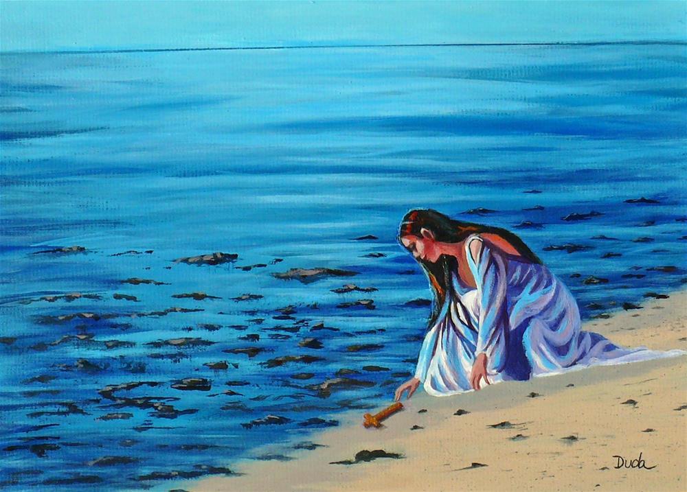 """Finding Faith"" original fine art by Susan Duda"