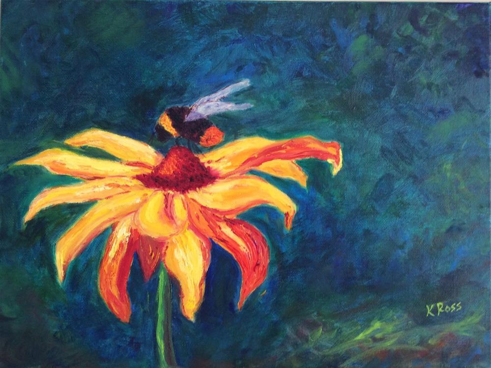 """Nectar"" original fine art by Kathryn Ross"