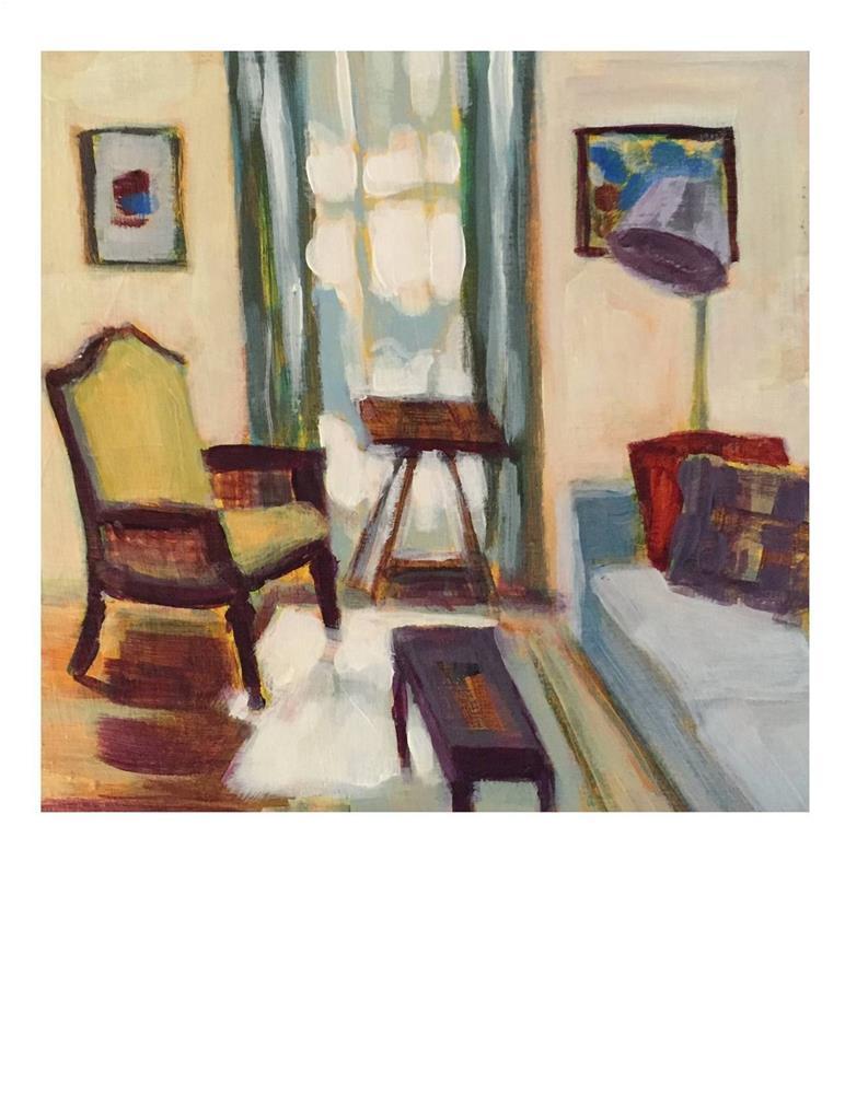 """""""Vermont Interior"""" original fine art by Suzanne Woodward"""