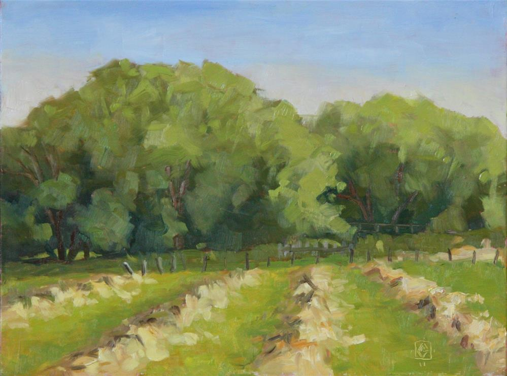 """Make Hay While The Sun Shines"" original fine art by Carol Granger"