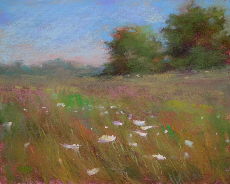 """How to Ship an Unframed Pastel Painting"" original fine art by Karen Margulis"