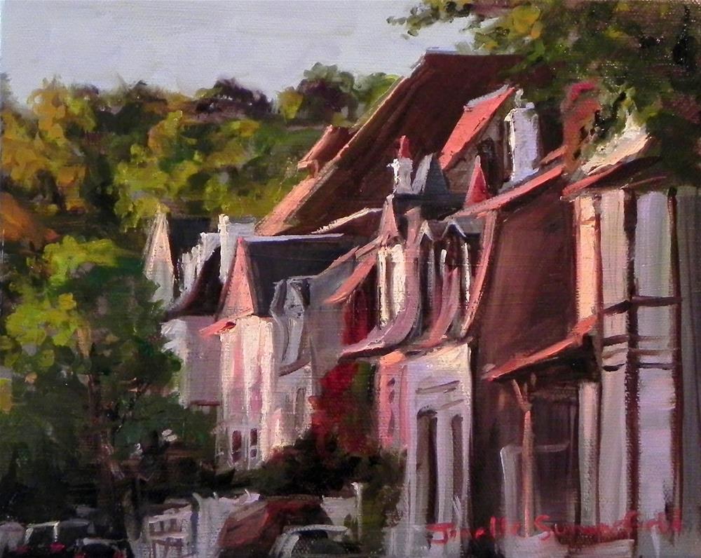 """Deauville"" original fine art by Jonelle Summerfield"