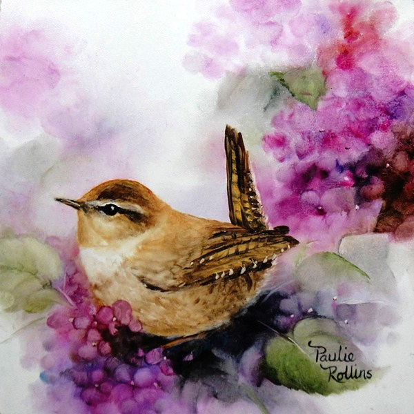 """Springtime Pretties"" original fine art by Paulie Rollins"