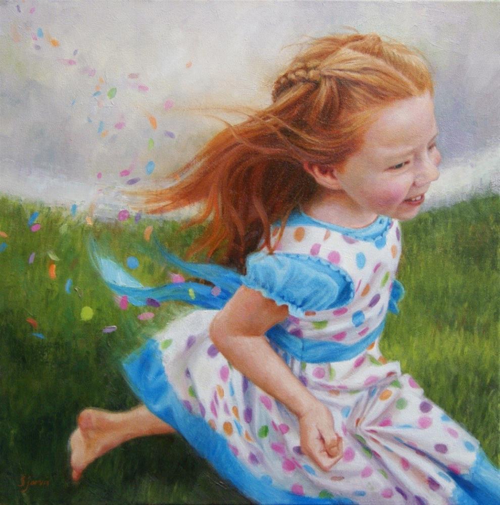 """Chasing The Dream"" original fine art by Susan N Jarvis"