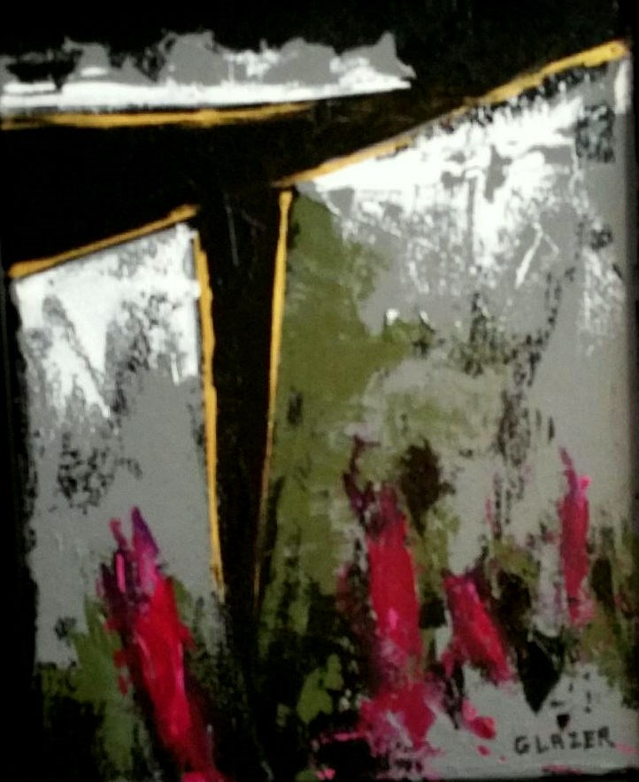 """Black Canyon"" original fine art by Stuart Glazer"