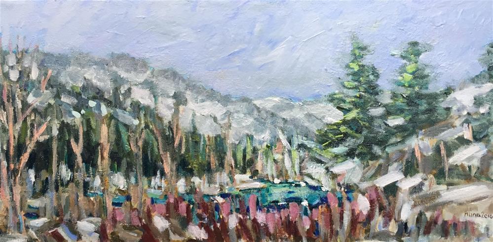 """""""Almost Spring"""" original fine art by Alina Vidulescu"""