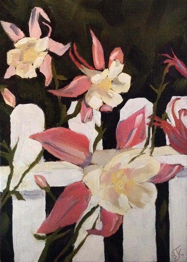 """Columbine"" original fine art by Bobbie Cook"