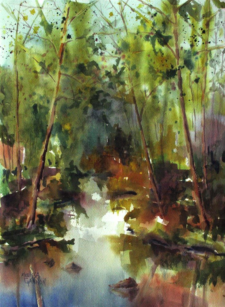 """Earth Magic"" original fine art by Melissa Gannon"