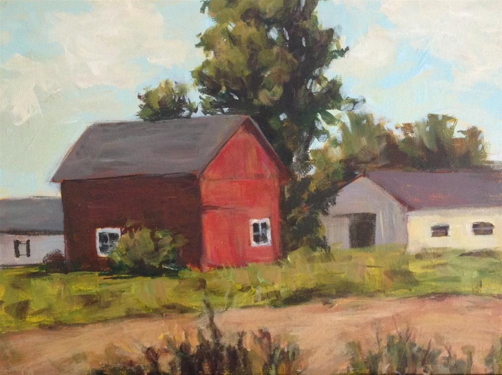 """""""Old Country"""" original fine art by Shannon Bauer"""