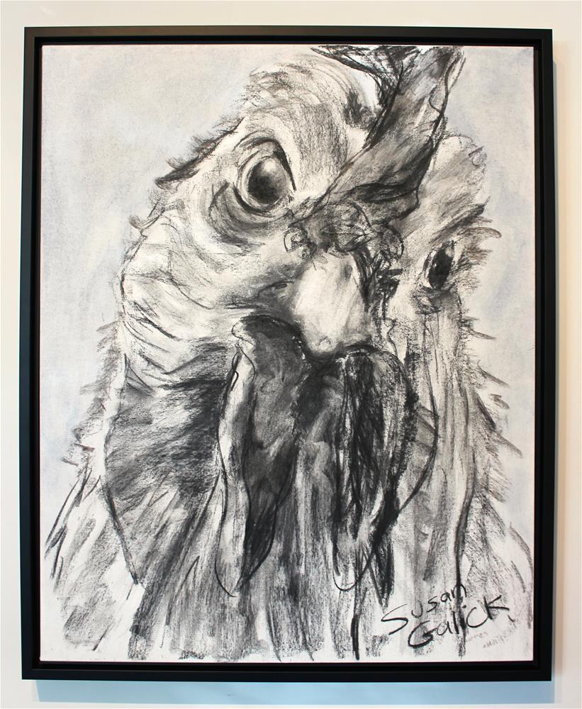"""""""Half-Cocked"""" original fine art by Susan Galick"""