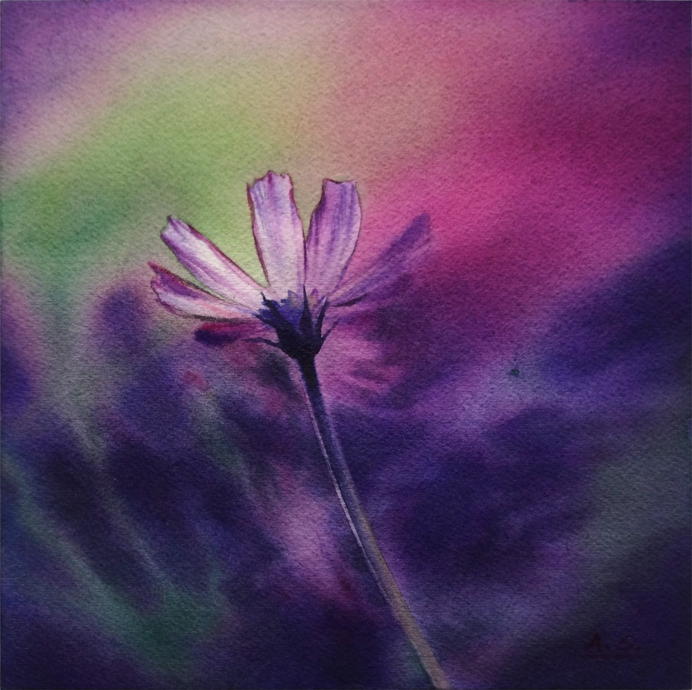 """Ode to Spring"" original fine art by Arena Shawn"