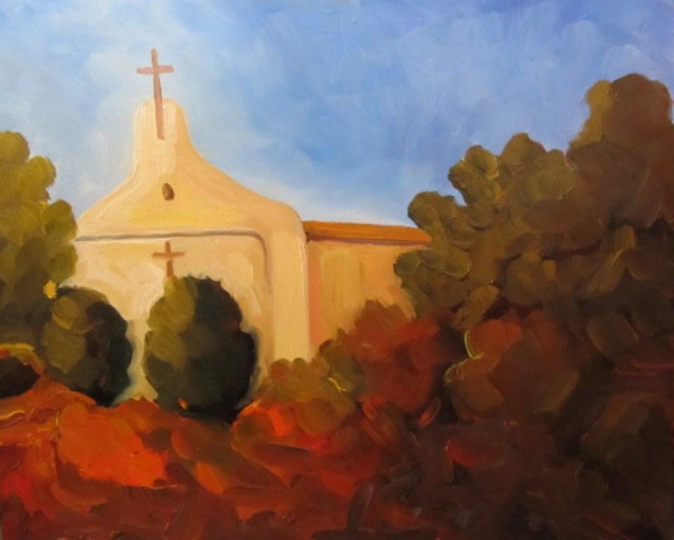 """last free giveaway"" original fine art by Dee Sanchez"