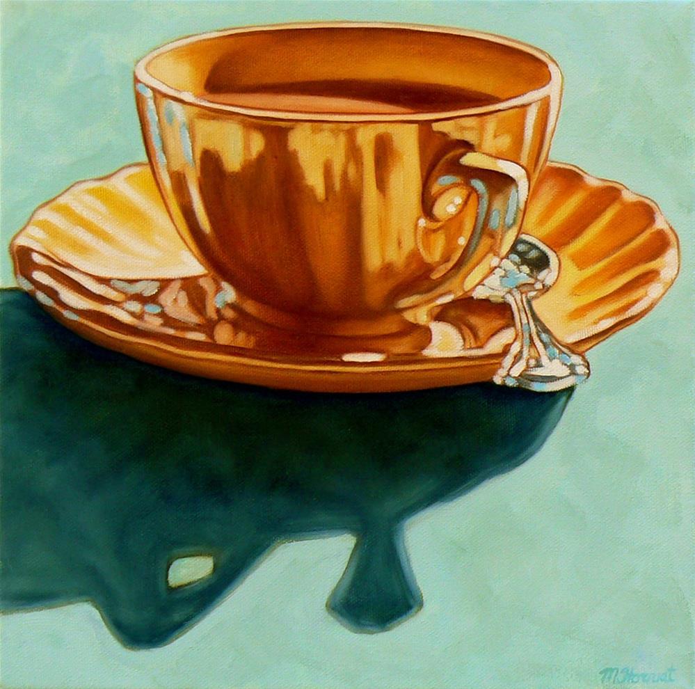 """""""Pause"""" original fine art by Margaret Horvat"""