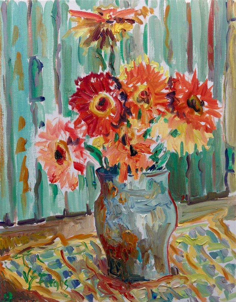 """Remembering Vincent"" original fine art by Virginia Fergus"