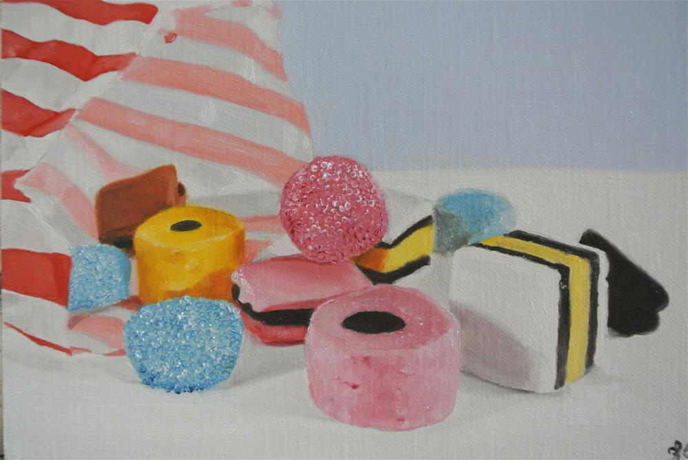 """Liquorice Allsorts"" original fine art by James Coates"