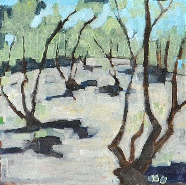 """""""Olive Grove"""" original fine art by Kevin Inman"""
