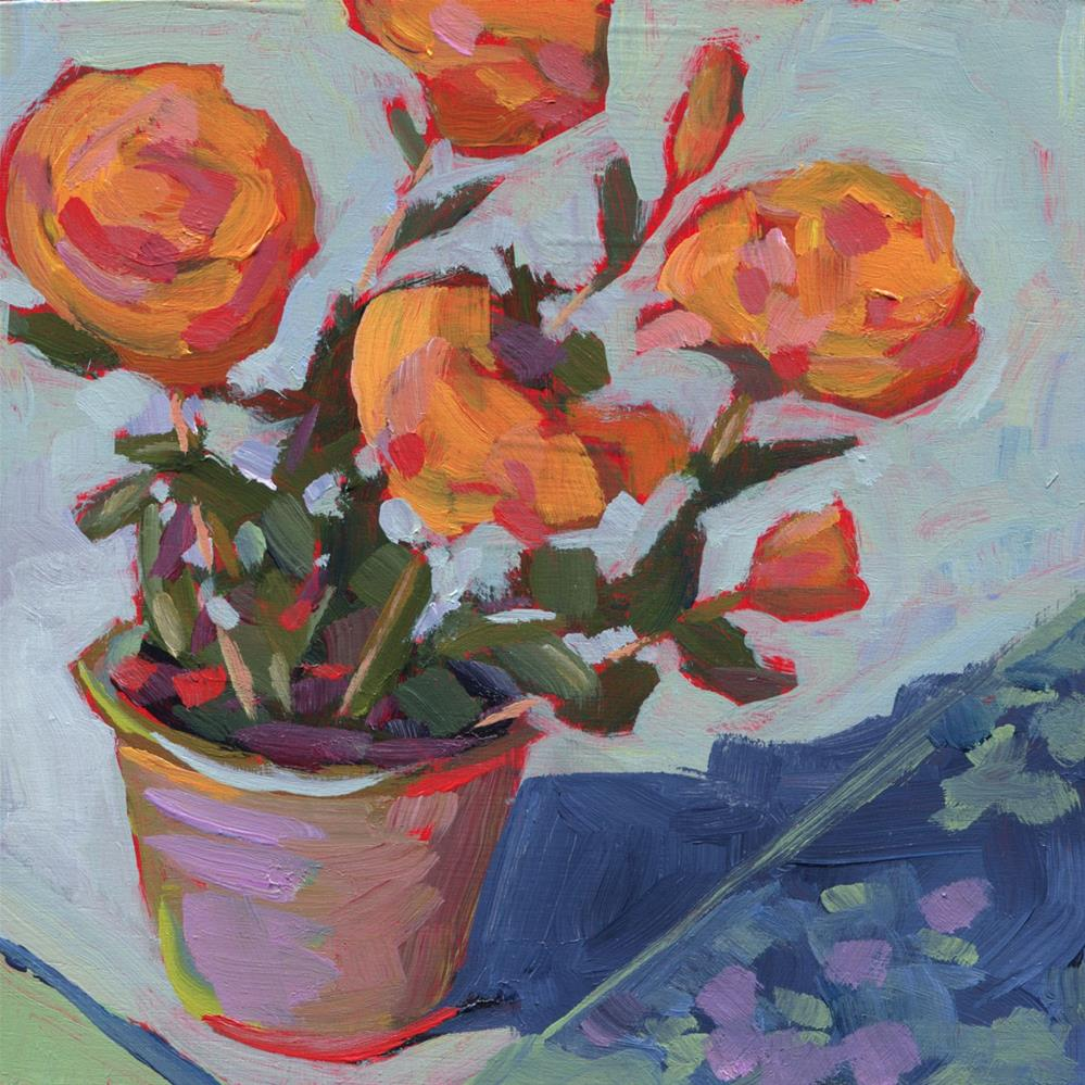 """0492: Roses for My Garden, if I Plant Them..."" original fine art by Brian Miller"