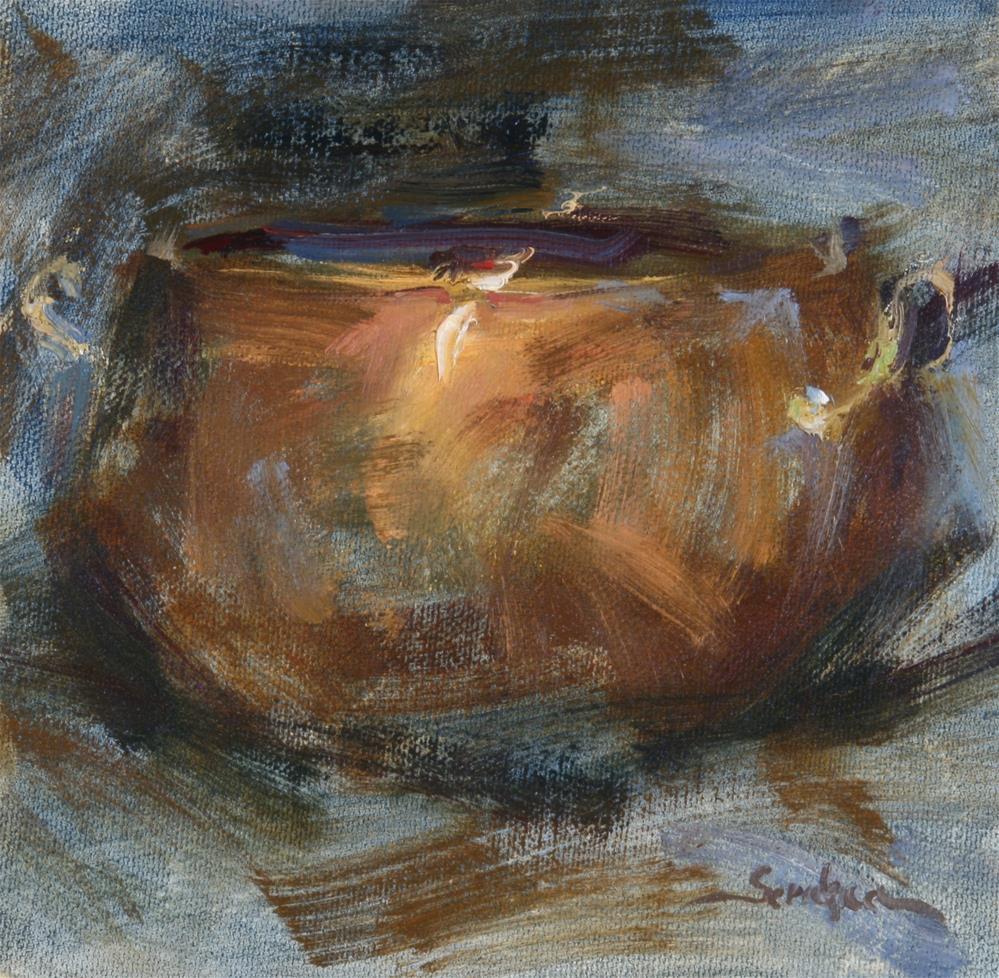 """""""Painted Copper"""" original fine art by Scott Serafica"""