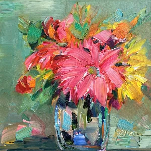 """Gift for Life"" original fine art by Lisa Fu"