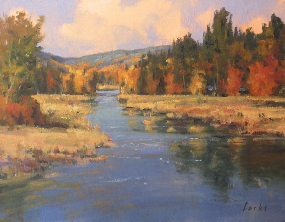 """Fall Color"" original fine art by David Forks"