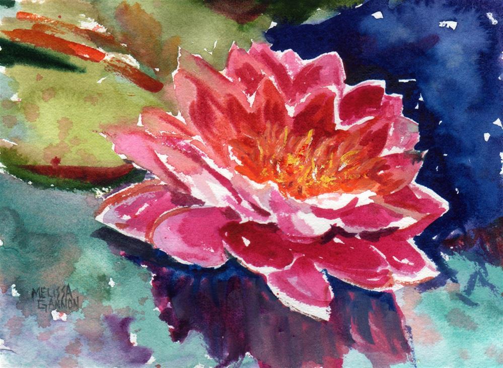 """In the Pink"" original fine art by Melissa Gannon"