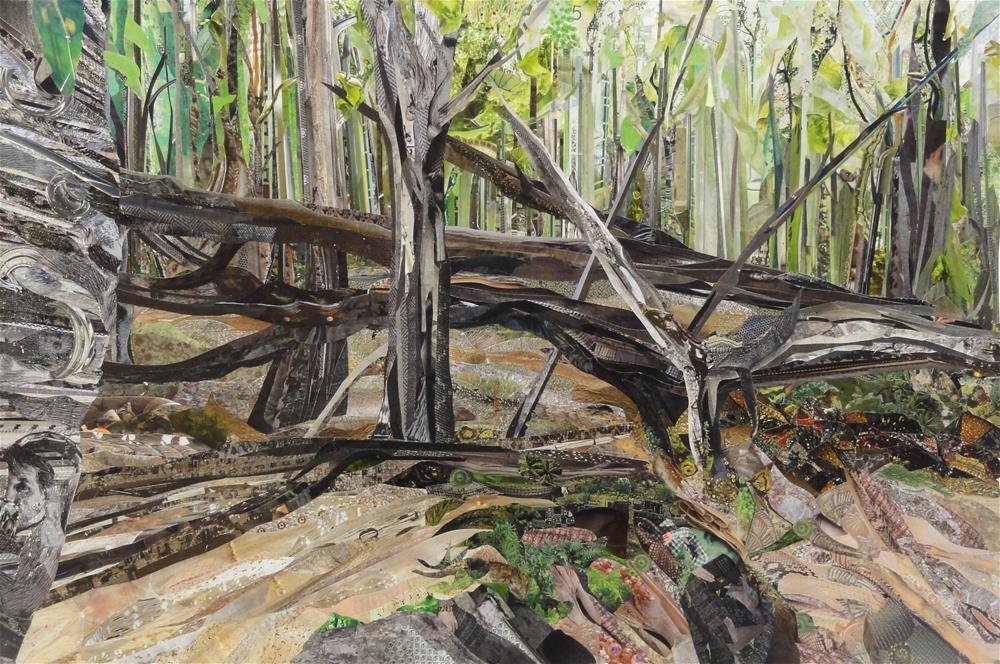 """Woven Woods"" original fine art by Cynthia Frigon"