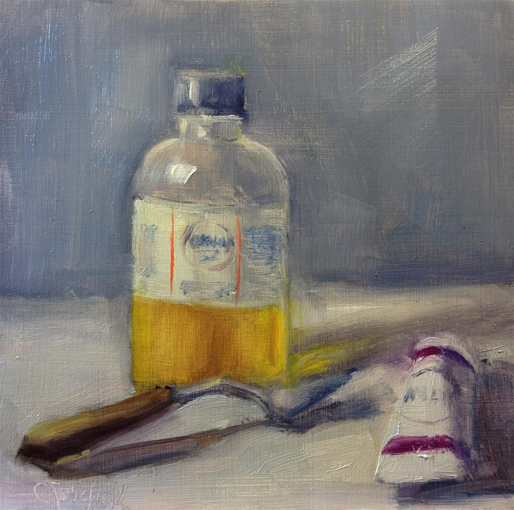 """Everything is a Subject"" original fine art by Carol Josefiak"