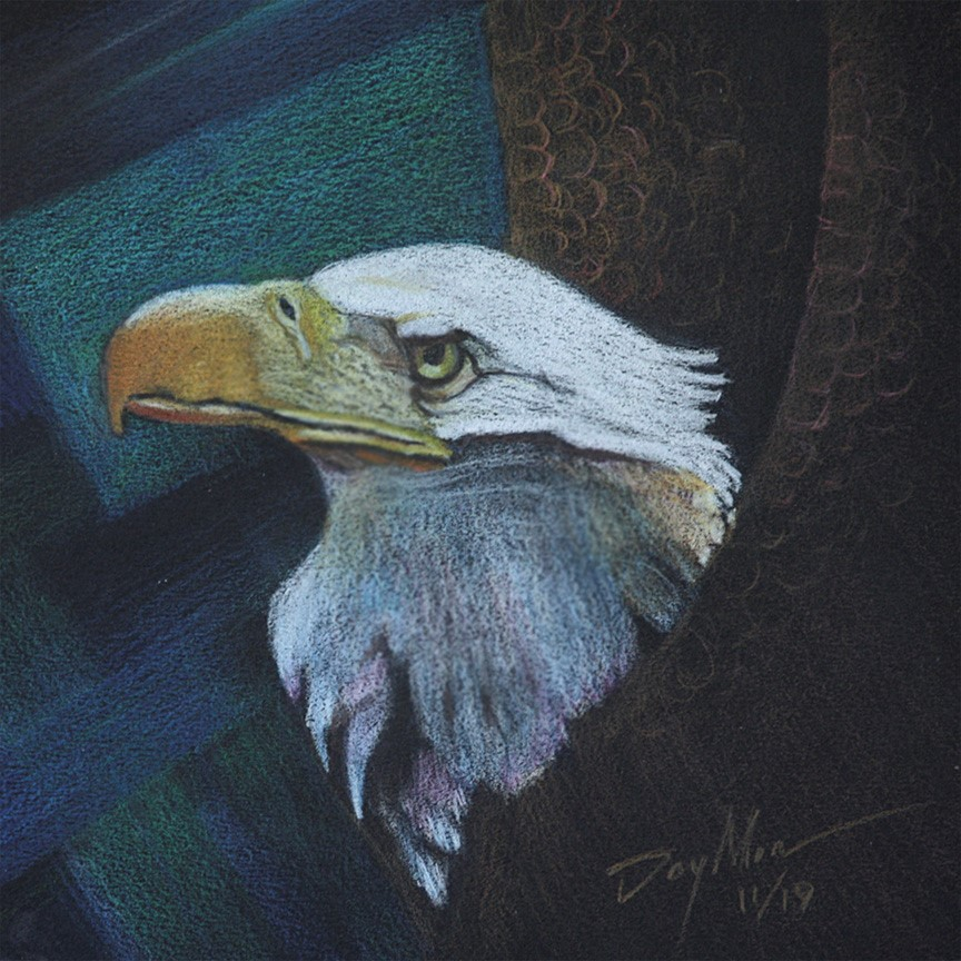 """""""To Be Jackie"""" original fine art by Mike Daymon"""