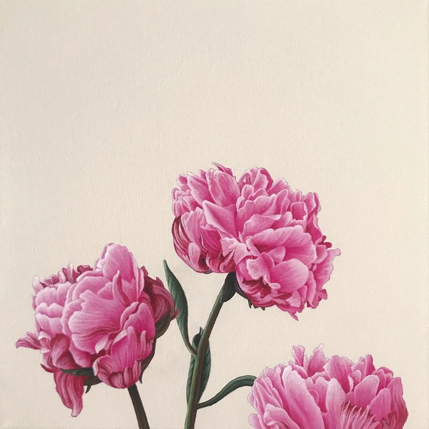 """In Bloom IV"" original fine art by Jelaine Faunce"