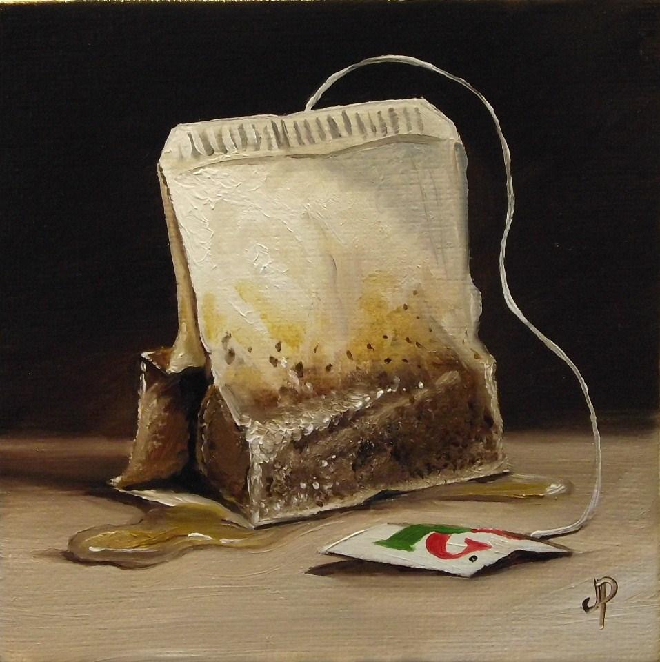 """""""Old bag!"""" original fine art by Jane Palmer"""