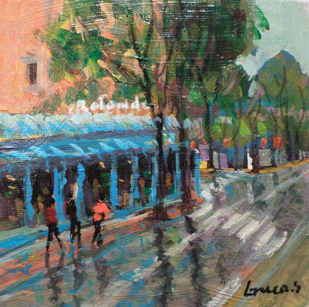 """PARIS"" original fine art by salvatore greco"