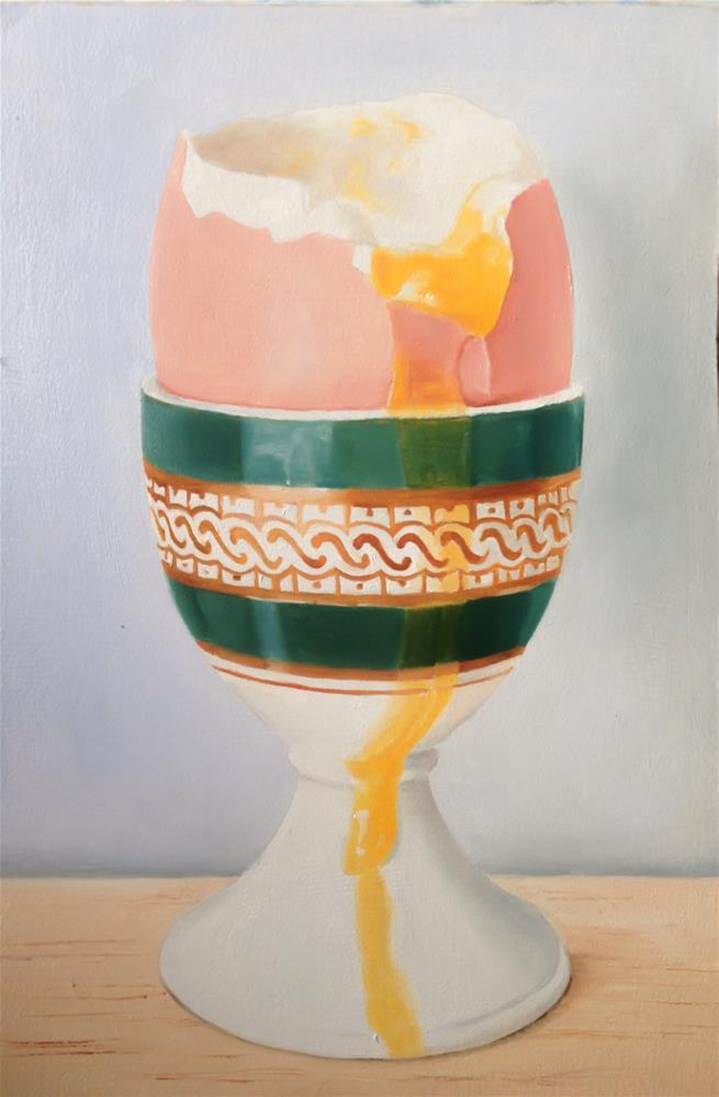 """""""Egg, Soft Boiled"""" original fine art by James Coates"""