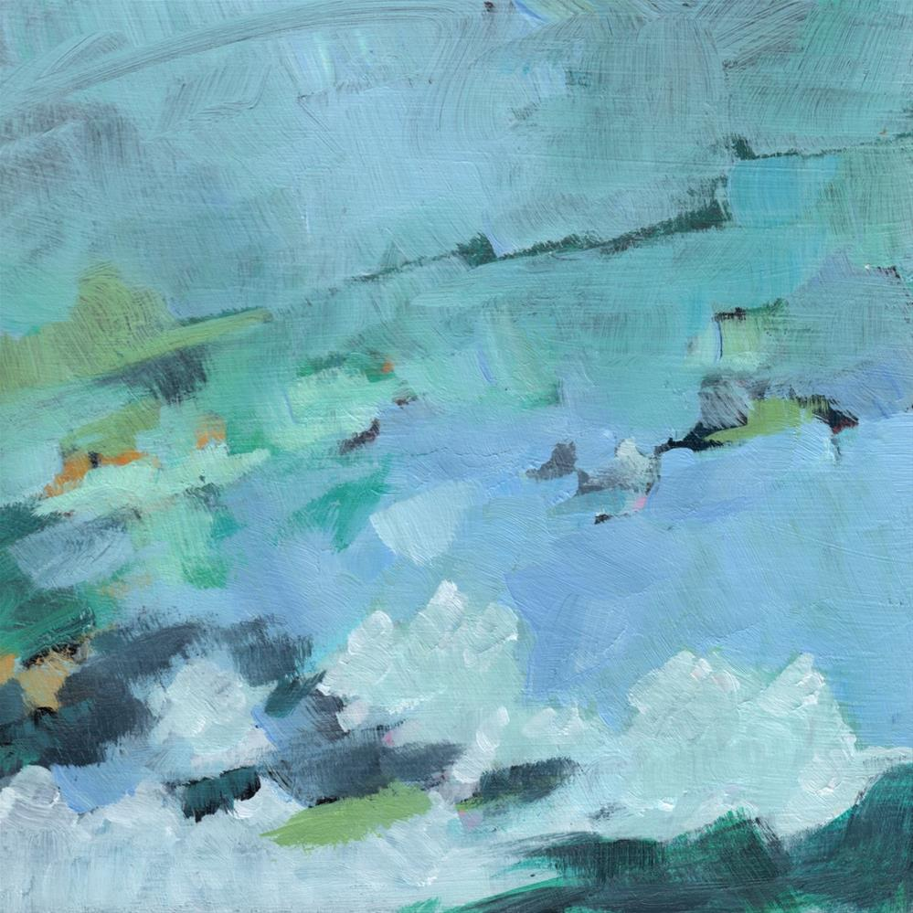 """Storm Coming (#354)"" original fine art by Brian Miller"