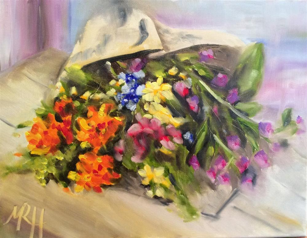 """""""Just Because"""" original fine art by Molly Rohrscheib Hathaway"""
