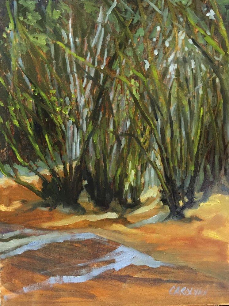 """""""Spider Trees"""" original fine art by Carolynn Doan"""