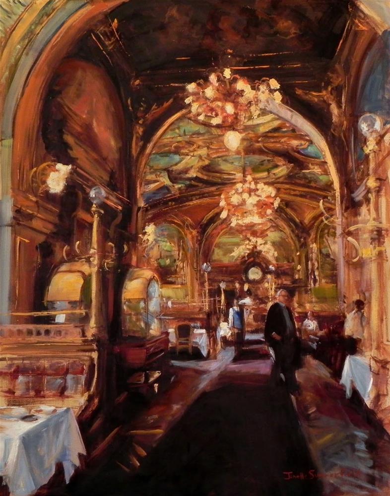 """""""Ornate Interior"""" original fine art by Jonelle Summerfield"""