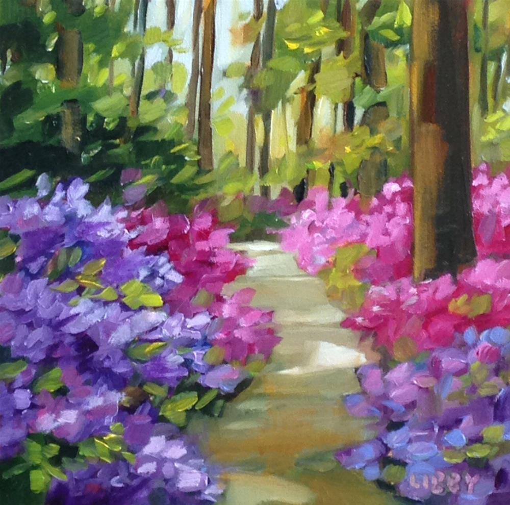 """Shady Path"" original fine art by Libby Anderson"