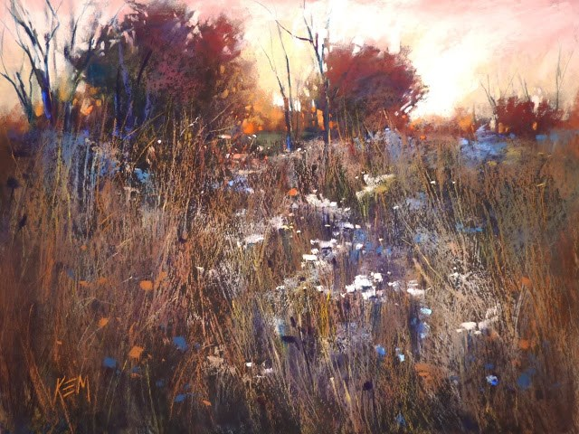 """My Favorite Paintings of 2017 #2"" original fine art by Karen Margulis"