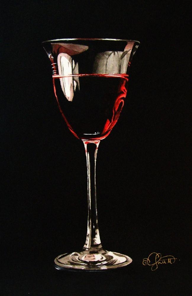 """""""Rosé"""" original fine art by Jacqueline Gnott, TWSA, WHS"""