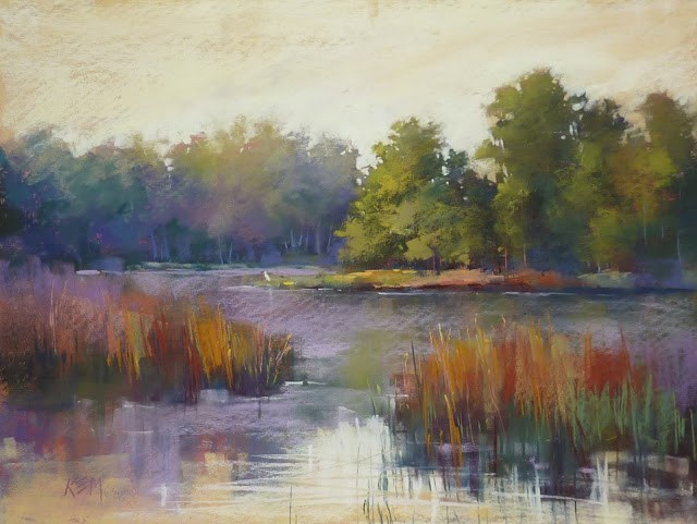"""An Important Tip for Painting Reflections"" original fine art by Karen Margulis"