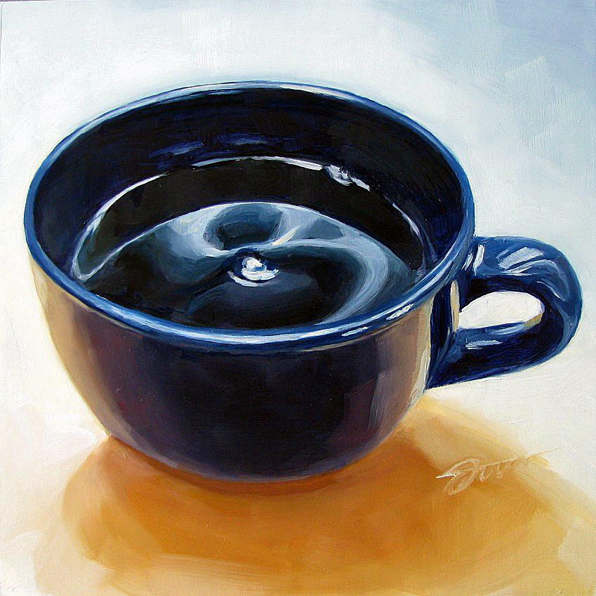 """Fuel For A Day"" original fine art by Joanna Bingham"