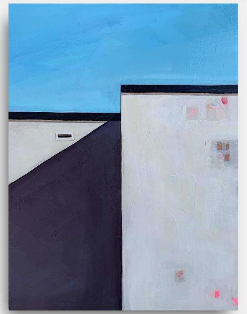"""""""816 Outside the Alone"""" original fine art by Jenny Doh"""