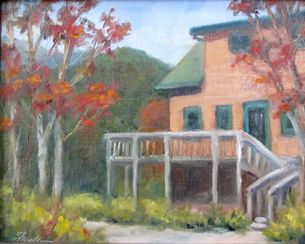 """""""Cabin Fever"""" original fine art by Pat Fiorello"""