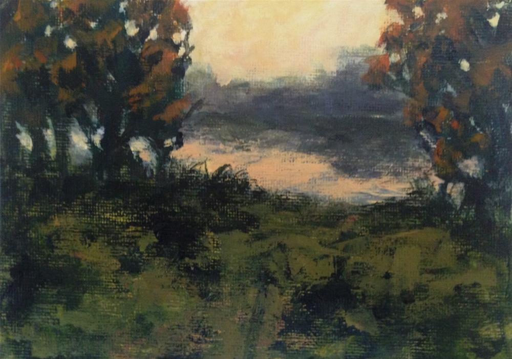 """Quiet Reflection"" original fine art by Shannon Bauer"
