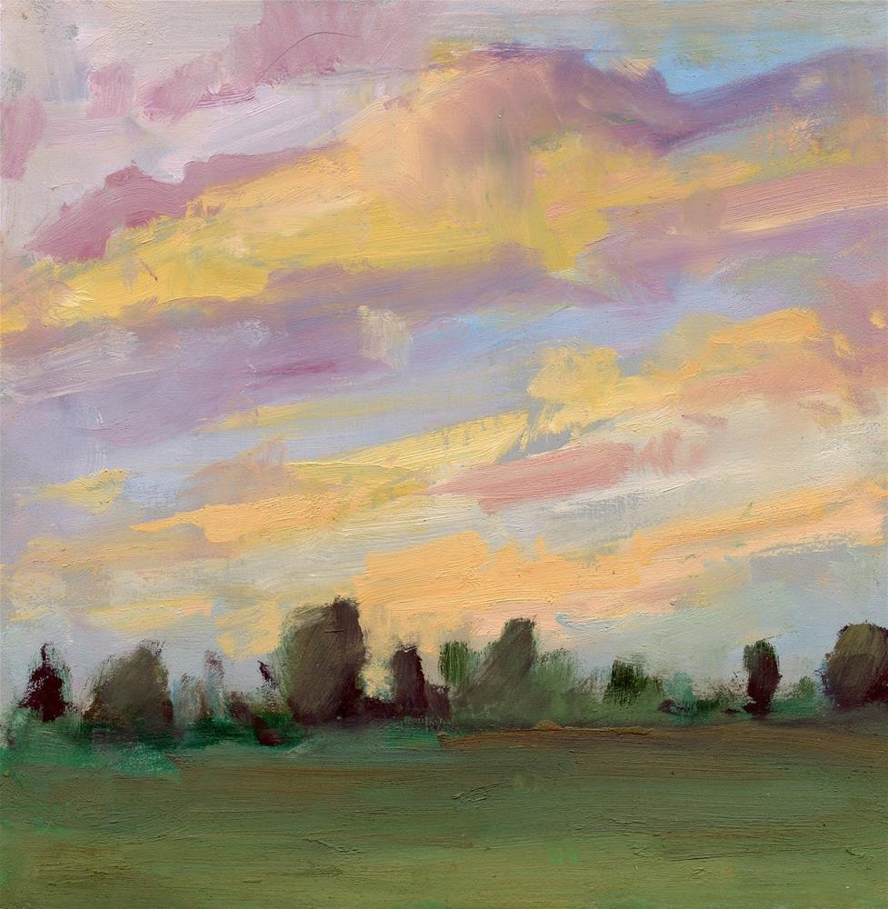 """Sunset 5"" original fine art by Carol Johansen"